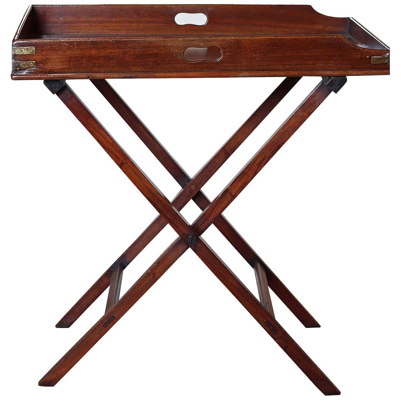 butler 39 s tray table at 1stdibs. Black Bedroom Furniture Sets. Home Design Ideas