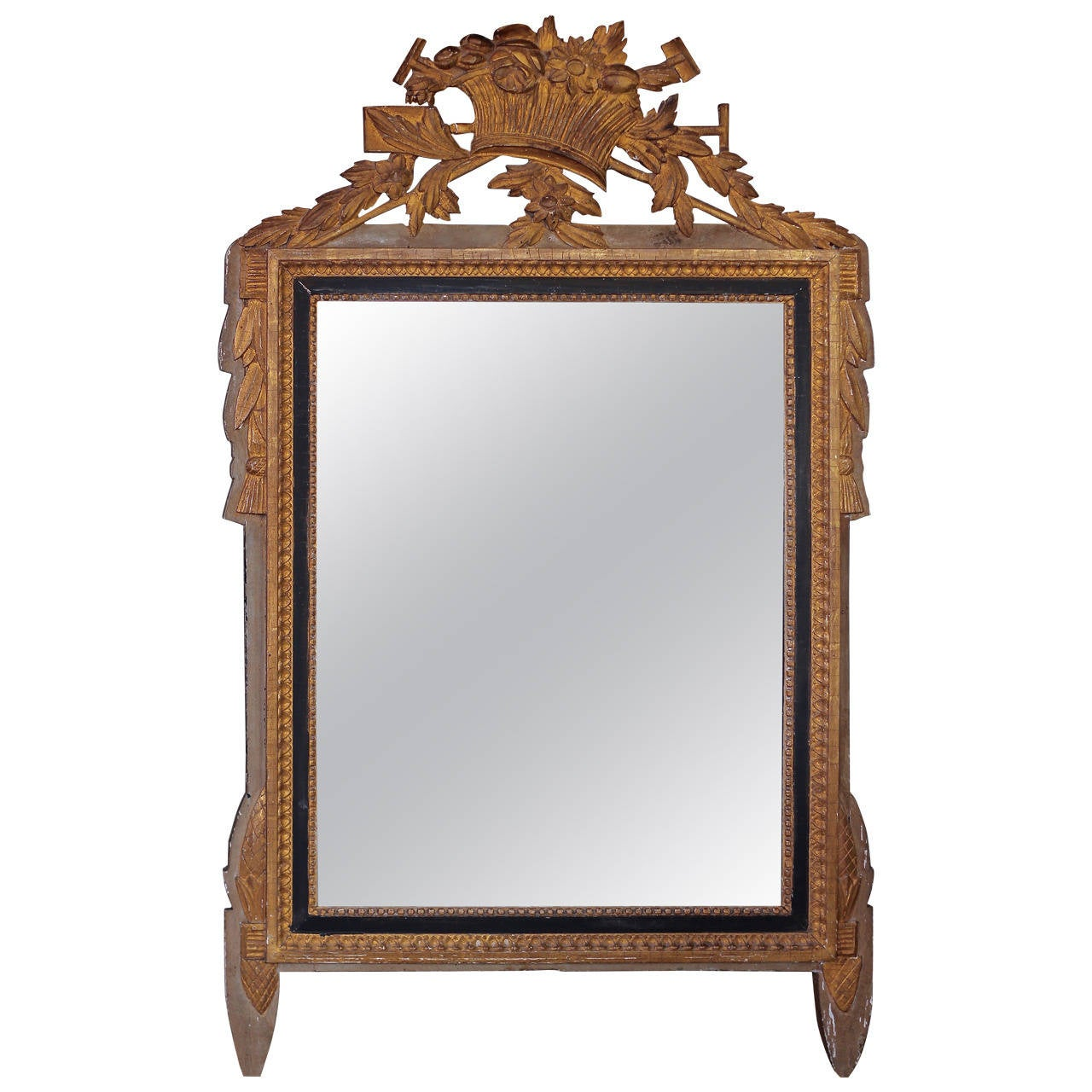louis xiii style mirror at 1stdibs