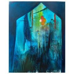 Yury Kharchenko House of Blue Painting