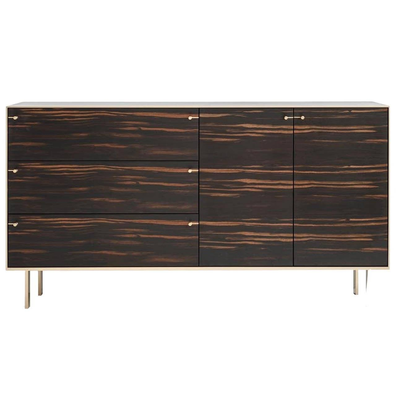 Dresser With Cabinet Ingemar Cabinet Or Dresser Or Storage Cabinet In African Ebony And