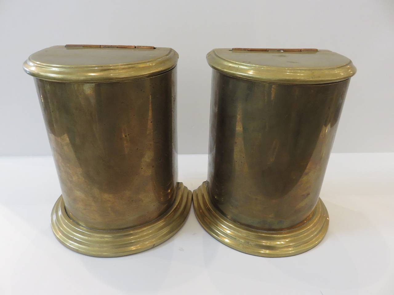Vintage brass bookends at 1stdibs - Antique brass bookends ...