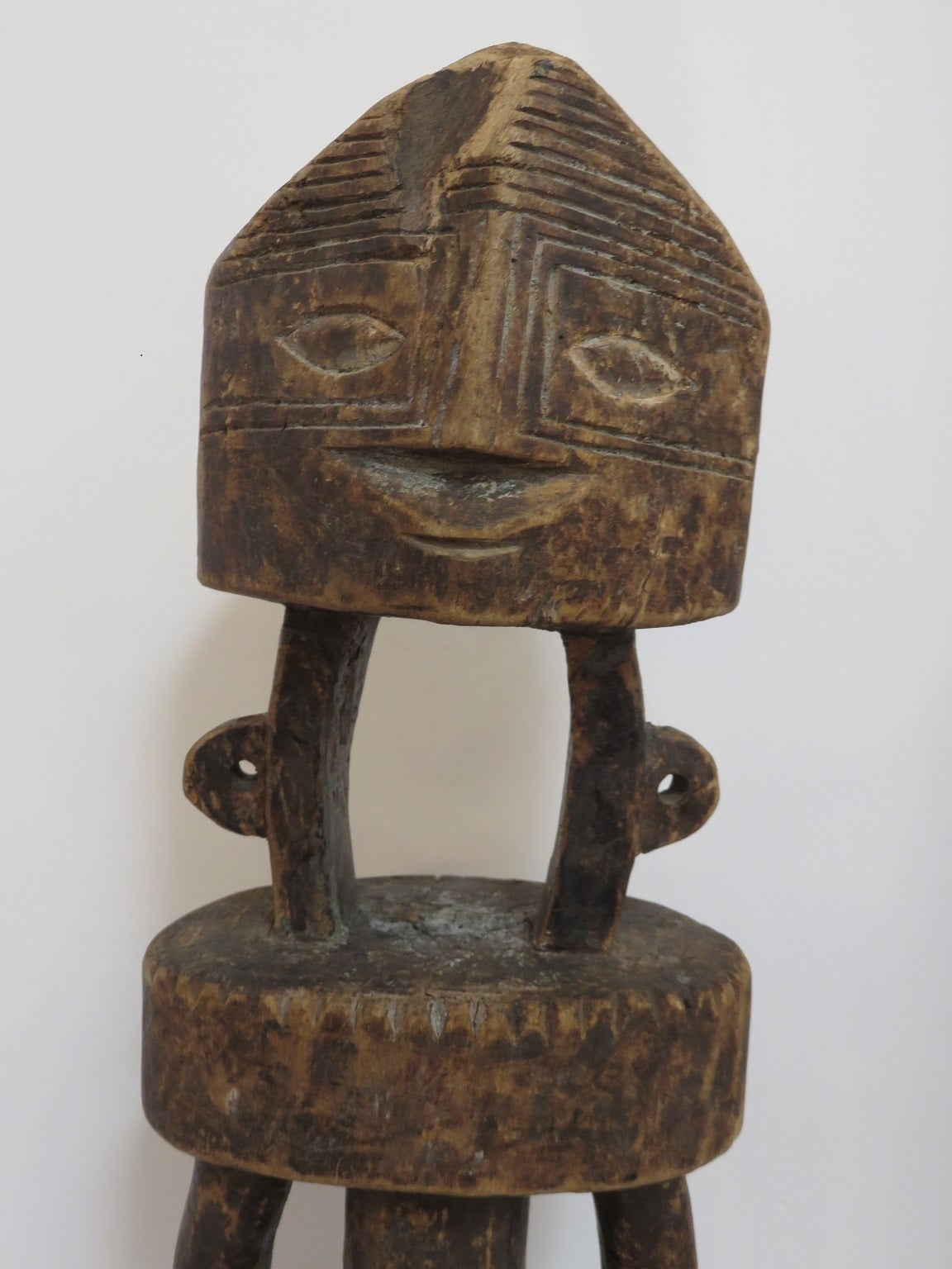 African Hand Carved Figure Nigeria At 1stdibs