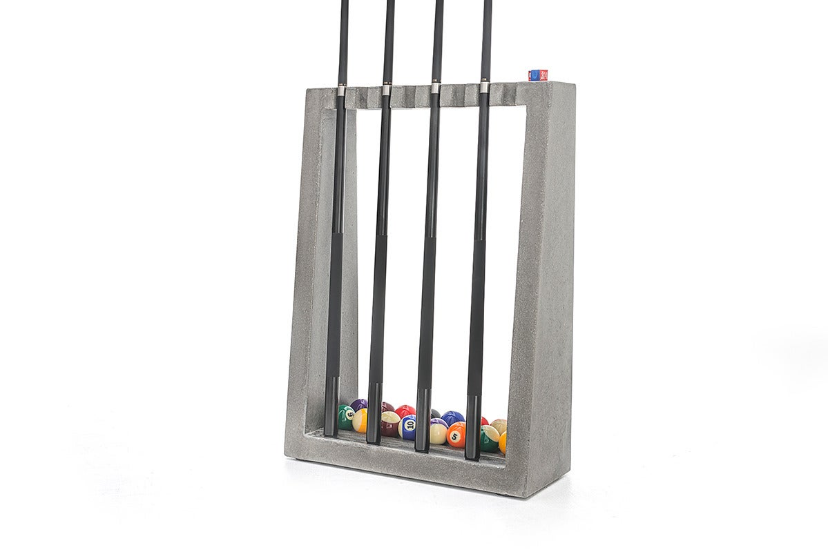 Floor Standing Billiards Concrete Cue Rack To Accompany The James De Wulf Pool  Table. Shown