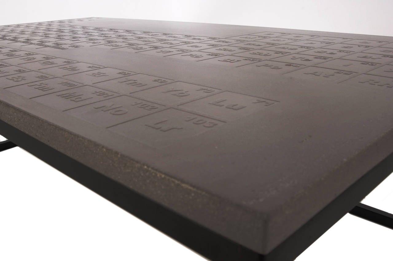 James de wulf periodic coffee table concrete and steel for sale james de wulf periodic coffee table concrete and steel 2 gamestrikefo Choice Image