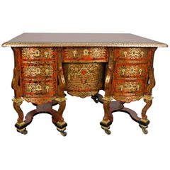 French Boulle Mazarin Desk