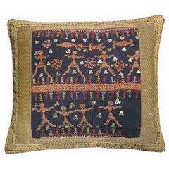 Antique Uzbek Pillow, circa 1880