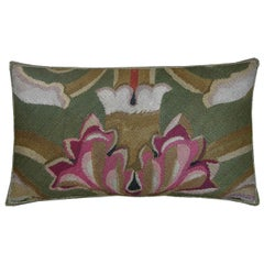 Antique French Aubusson Pillow