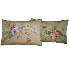 Pair of Antique Pillows, circa 1850