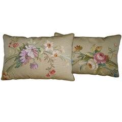 Pair of Antique Pillows, circa 1850