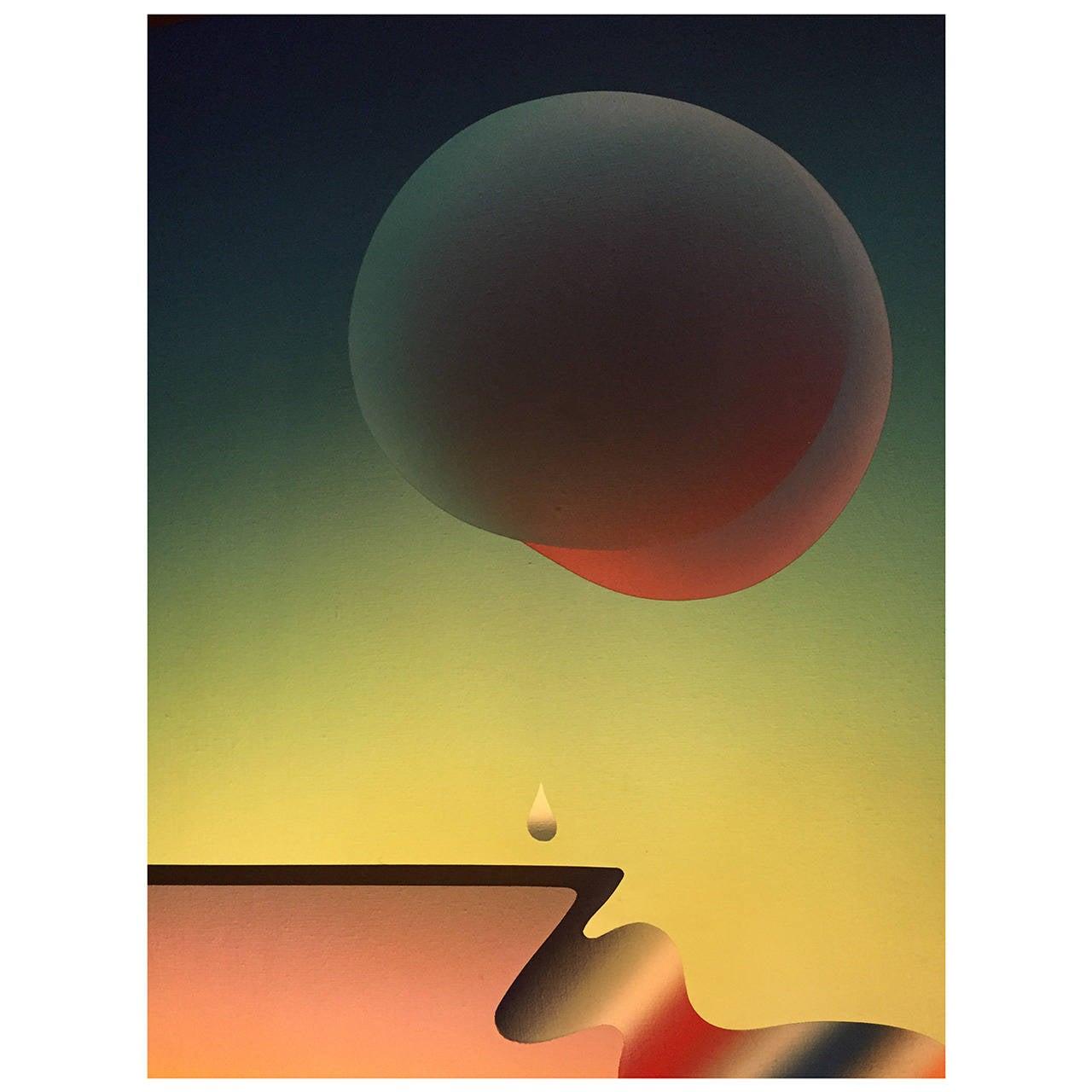 Stefan Knapp painting, 1975 1