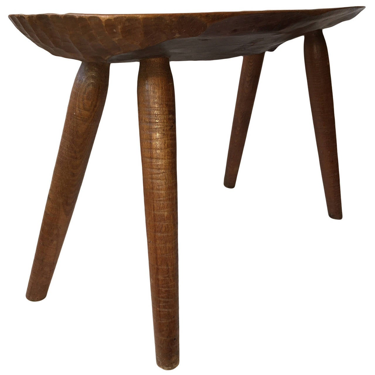 A franze walnut side table or bench at 1stdibs for Walnut side table