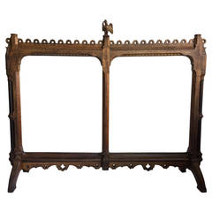 19th Century Arts and Crafts Screen