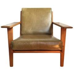 Hans J Wegner, original Getama ge290 plank chair