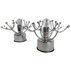 Pair of Italian Midcentury Lamps