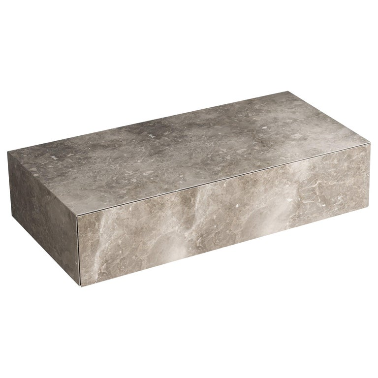 For Sale: Gray (Gris du Marais) Salvatori Ciane Floating Drawer by Elisa Ossino