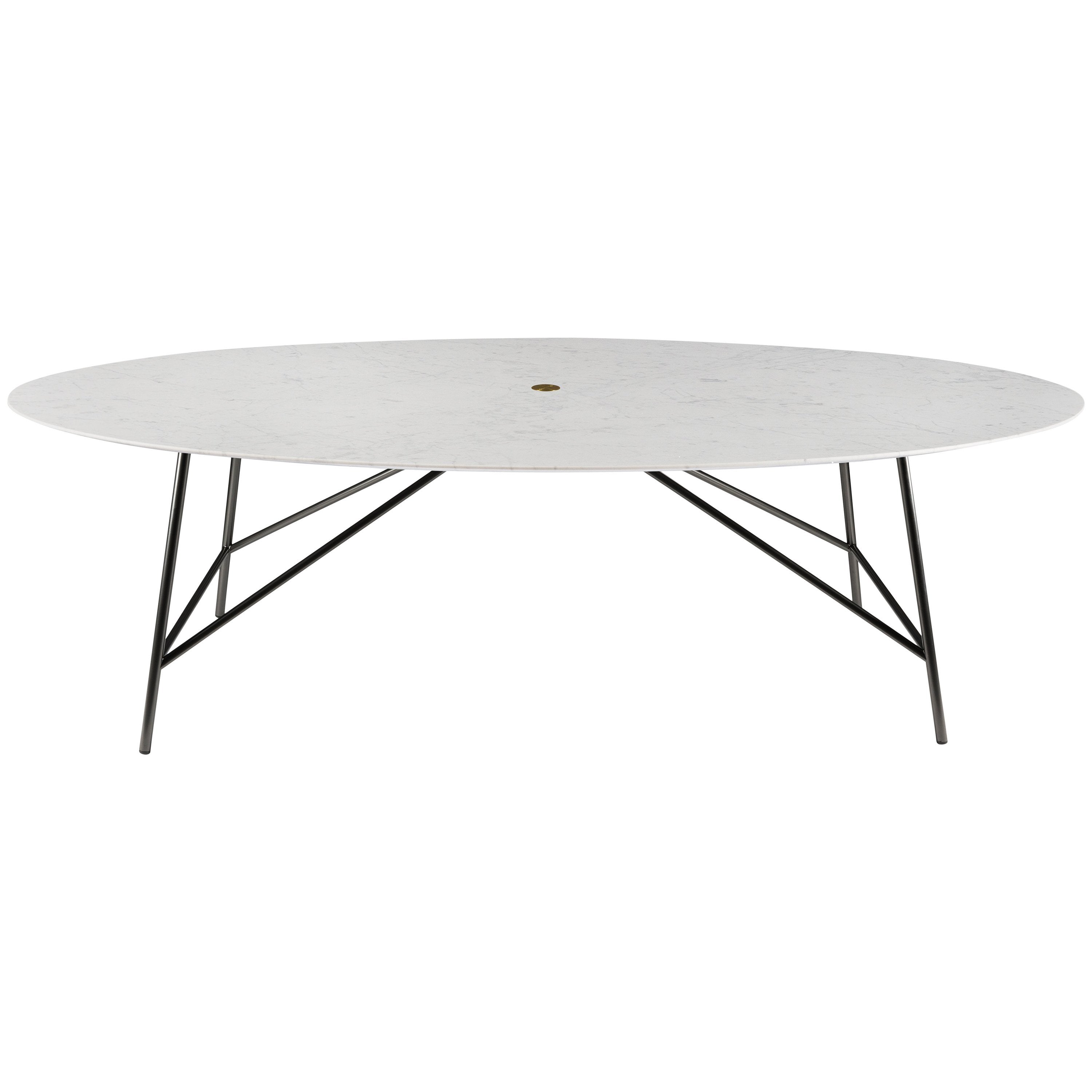 Salvatori Large W Oval Dining Table