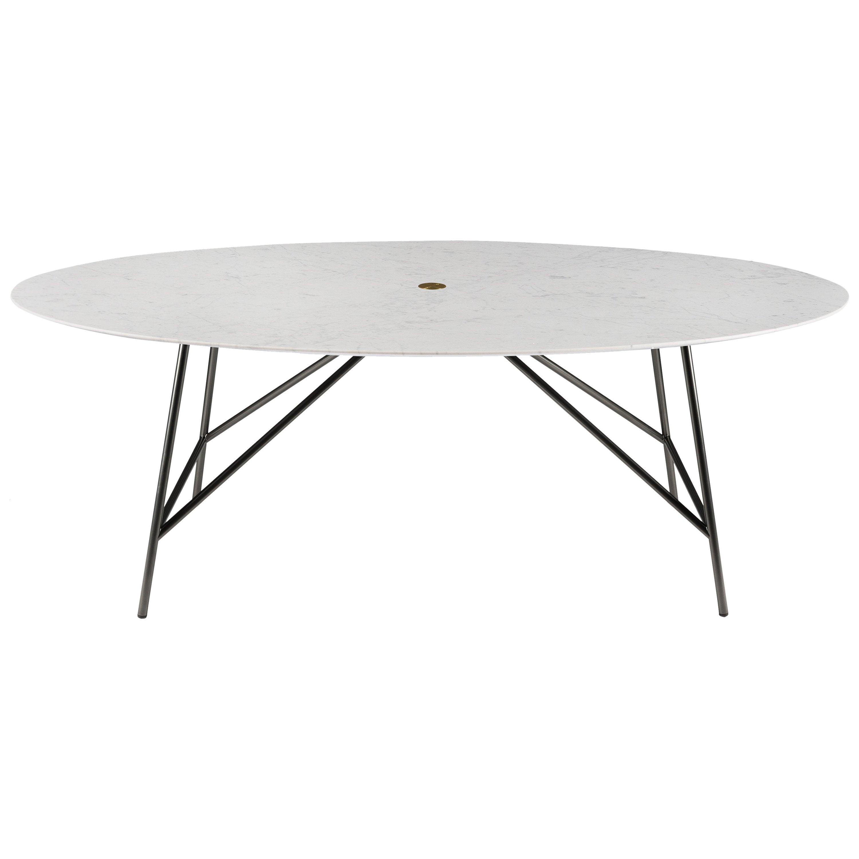 Salvatori Medium W Oval Dining Table