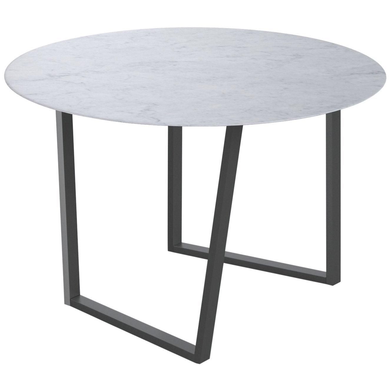 Salvatori Round Dritto Dining Table by Piero Lissoni