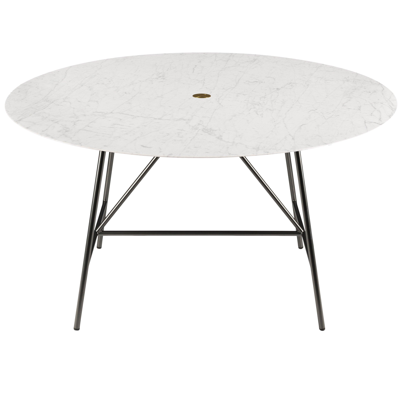 Salvatori Medium W Round Dining Table