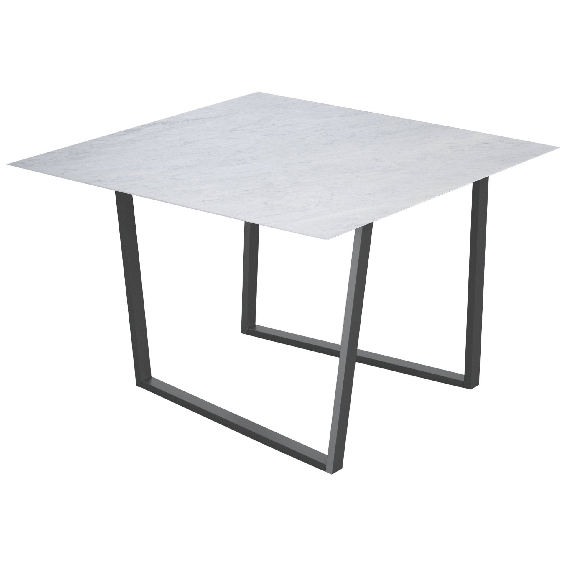 Salvatori Square Dritto Dining Table by Piero Lissoni