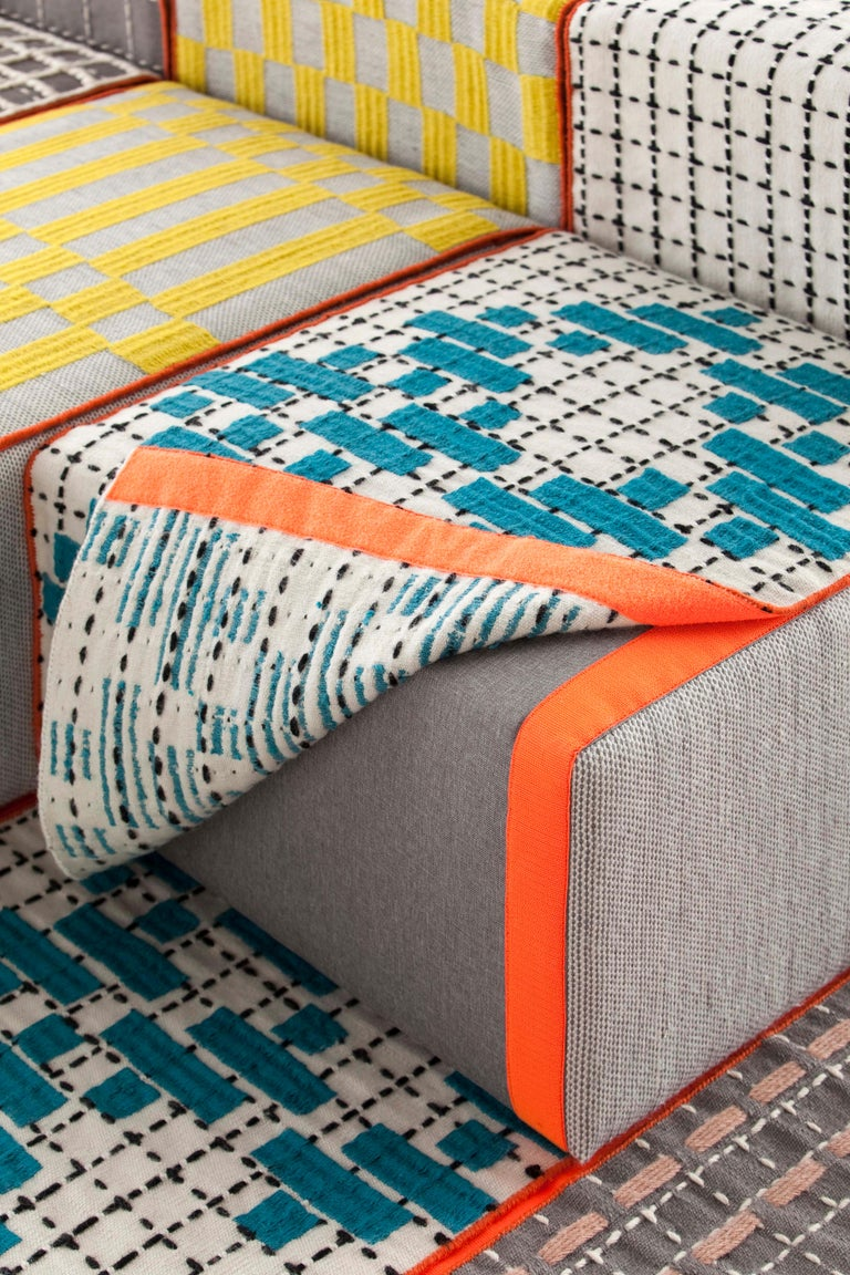 For Sale: undefined (White)  Patricia Urquiola Bandas Large Rug for GAN 2