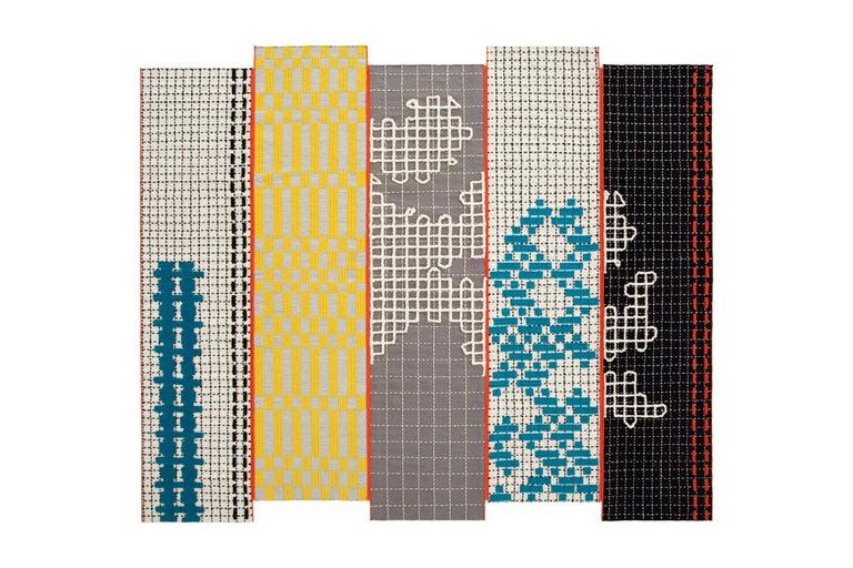 For Sale: undefined (Blue)  Patricia Urquiola Bandas Large Rug for GAN