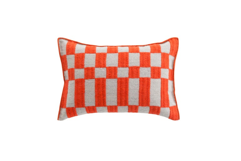 For Sale: undefined (Orange)  Patricia Urquiola Bandas Pillow for GAN