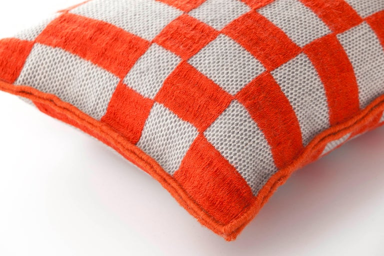 For Sale: undefined (Orange)  Patricia Urquiola Bandas Pillow for GAN 2