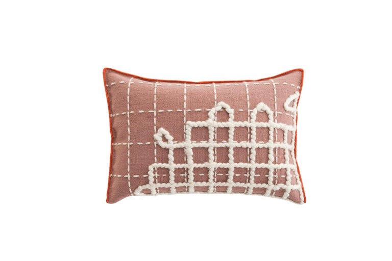 For Sale: undefined (Pink)  Patricia Urquiola Bandas Pillow for GAN