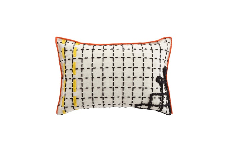For Sale: undefined (White)  Patricia Urquiola Bandas Pillow for GAN