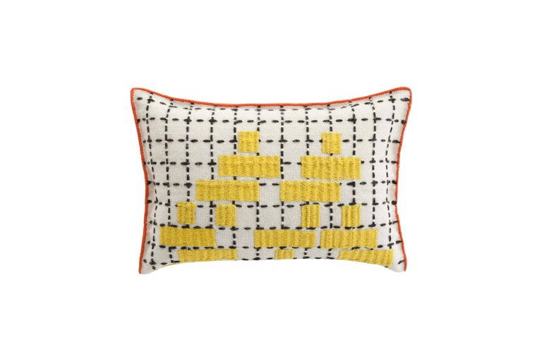 For Sale: undefined (Yellow)  Patricia Urquiola Bandas Pillow for GAN