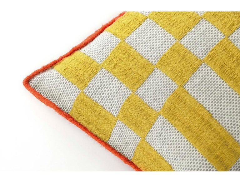 For Sale: undefined (Yellow)  Patricia Urquiola Bandas Pillow for GAN 2