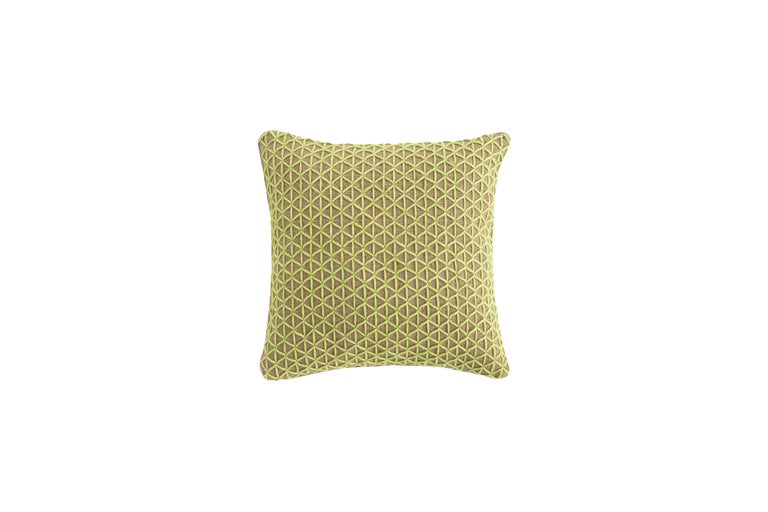 For Sale: undefined (Green) GAN Raw Large Pillow in Jute by Borja García
