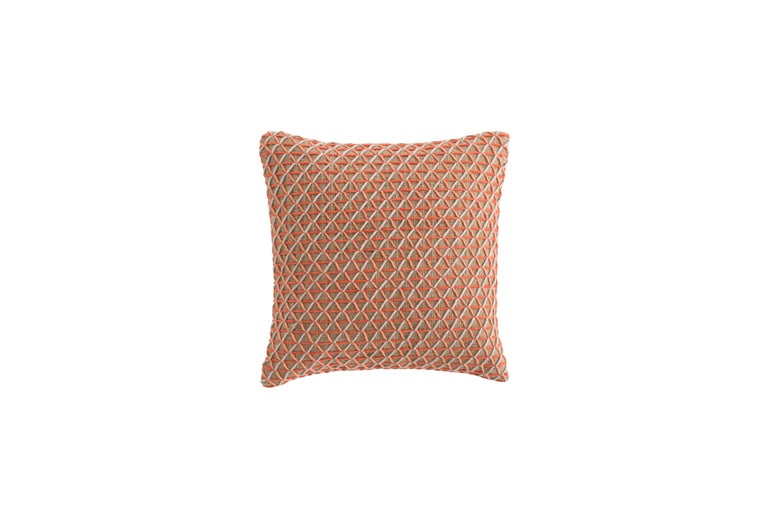 For Sale: undefined (Pink) GAN Raw Large Pillow in Jute by Borja García