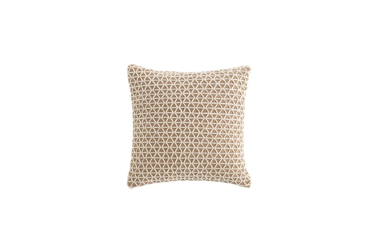 For Sale: undefined (White) GAN Raw Large Pillow in Jute by Borja García