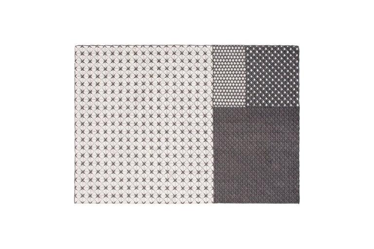 For Sale: undefined (White) GAN Silaï Space Rug by Charlotte Lancelot