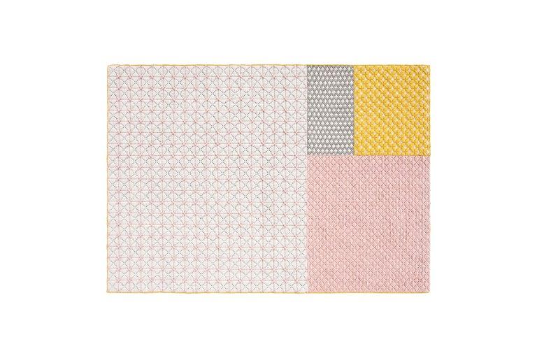 For Sale: undefined (Pink) GAN Silaï Space Rug by Charlotte Lancelot
