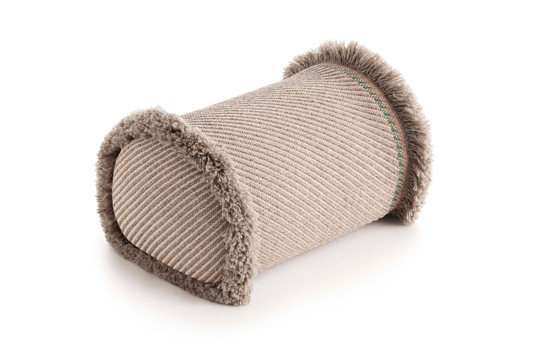 For Sale: undefined (Beige) Patricia Urquiola Garden Layers Large Pouf for GAN