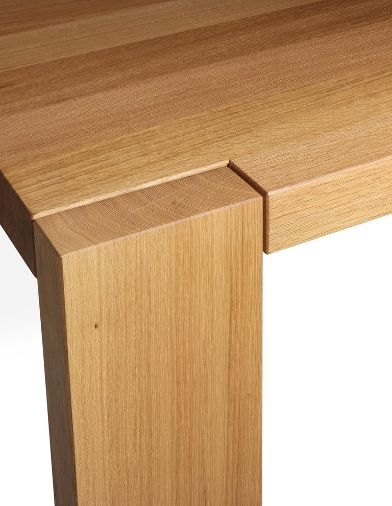 For Sale: Brown (Oil Oaked) e15 London Wood Table by Philipp Mainzer 2