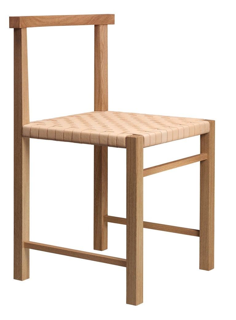 For Sale: Gray (Silk Gray Lacquer) e15 Karnak Chair with European Oak Base by Ferdinand Kramer