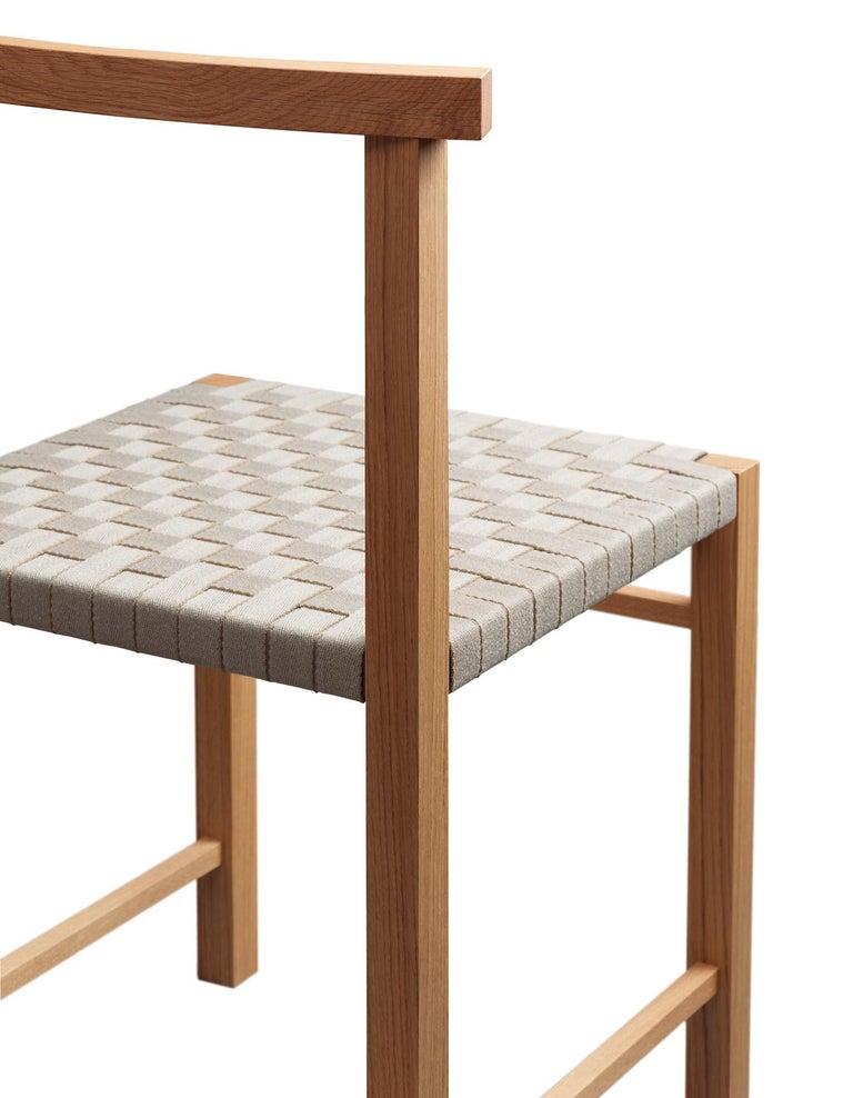 For Sale: undefined (Gray) e15 Karnak Chair with European Oak Base by Ferdinand Kramer 2