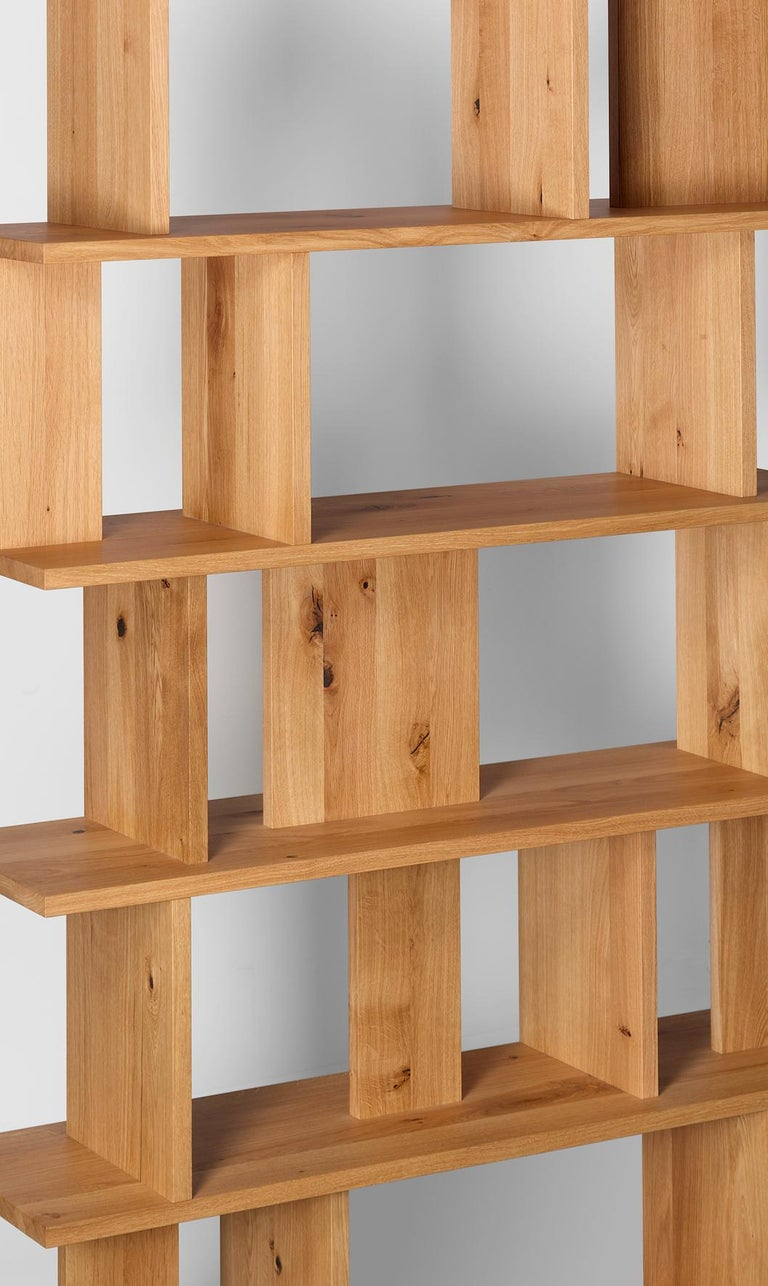 For Sale: Brown (Waxed Oak) e15 Arie Shelf by Arik Levy 2