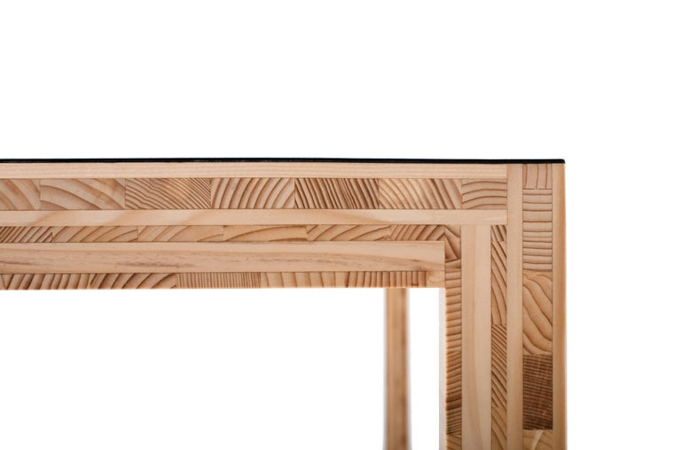 For Sale: White (0651) Established & Sons Table in Plywood by Caruso St John 2