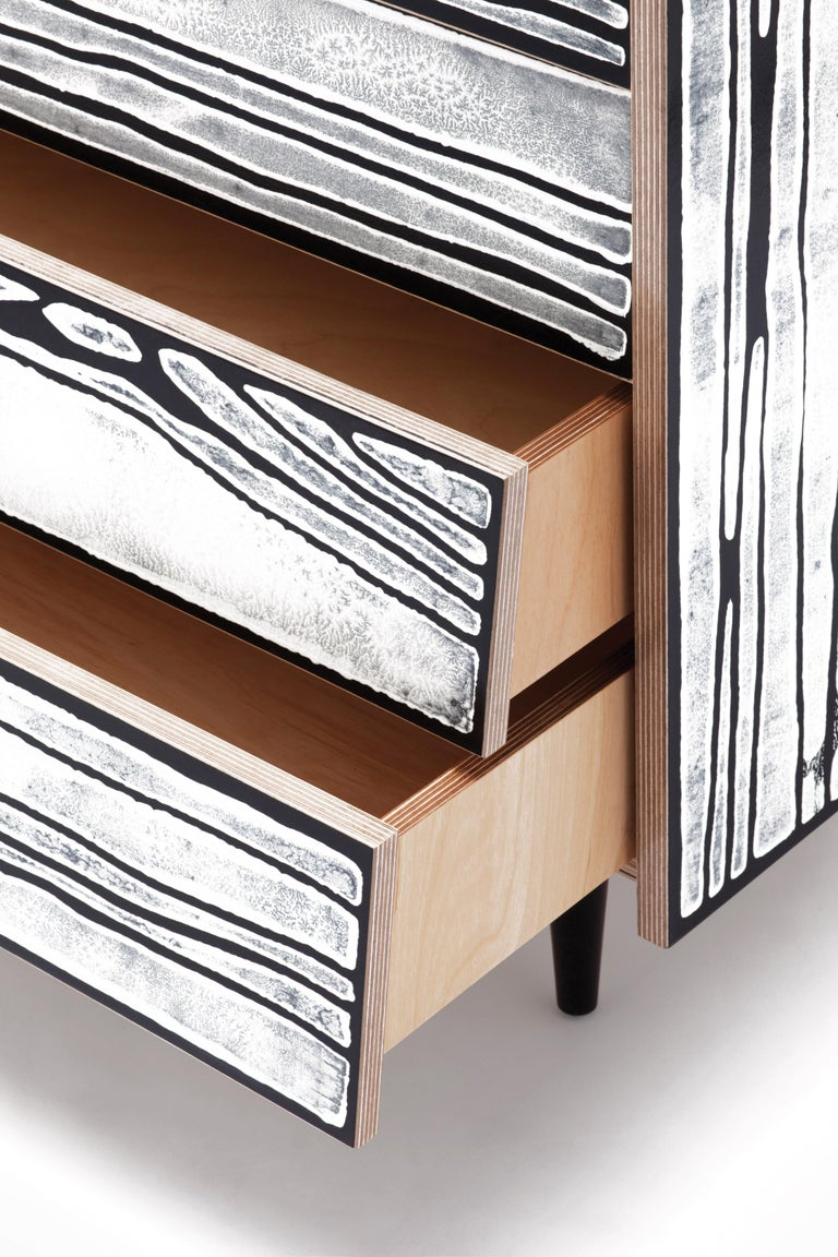For Sale: Multi (1064) Established & Sons Wrongwoods Drawers by Richard Woods and Sebastian Wrong 3