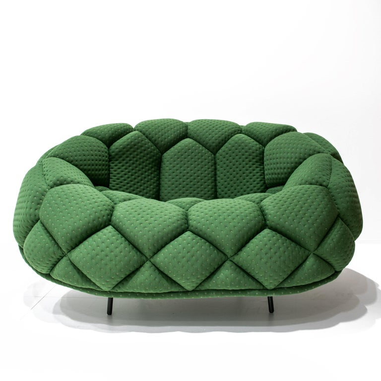For Sale: Green (5839) Ronan & Erwan Bouroullec Quilt Armchair for Established & Sons