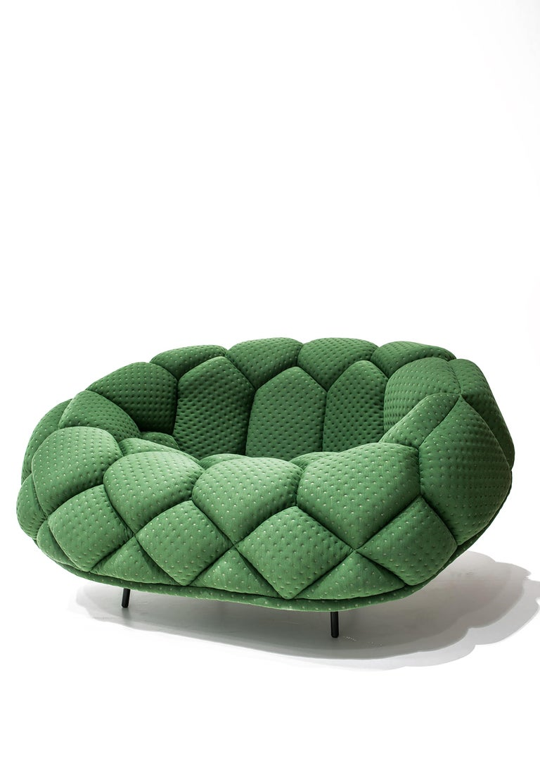 For Sale: Green (5839) Ronan & Erwan Bouroullec Quilt Armchair for Established & Sons 2