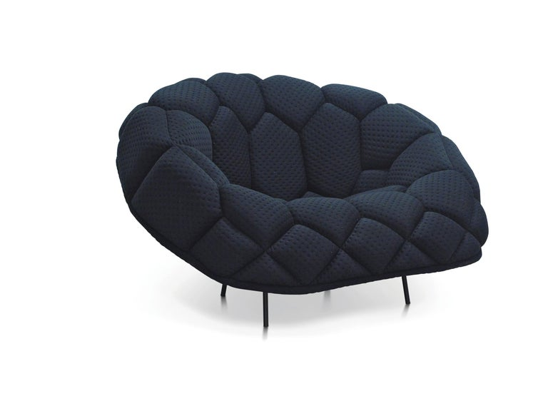 For Sale: Green (5839) Ronan & Erwan Bouroullec Quilt Armchair for Established & Sons 3