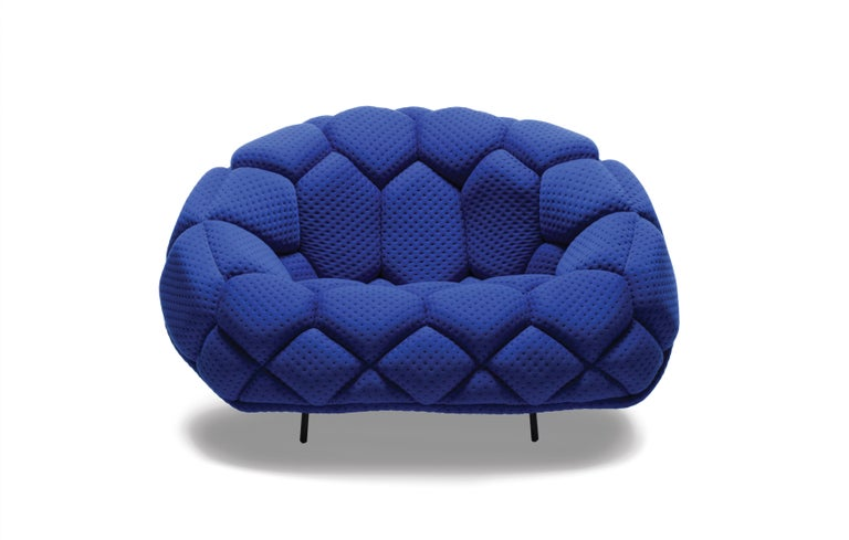 For Sale: Green (5839) Ronan & Erwan Bouroullec Quilt Armchair for Established & Sons 5