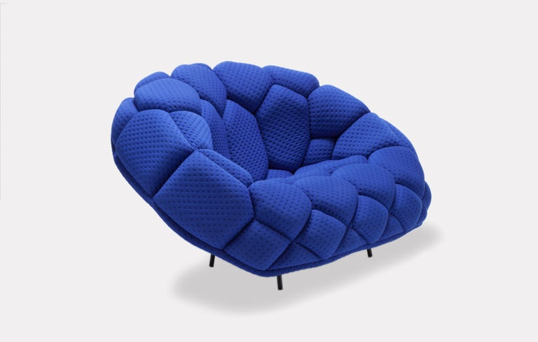 For Sale: Green (5839) Ronan & Erwan Bouroullec Quilt Armchair for Established & Sons 6