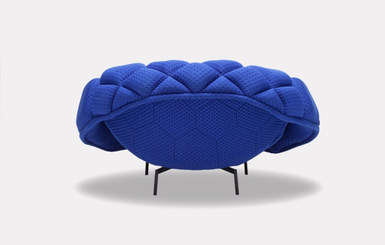 For Sale: Green (5839) Ronan & Erwan Bouroullec Quilt Armchair for Established & Sons 8